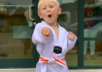 Taekwondo Little Boy