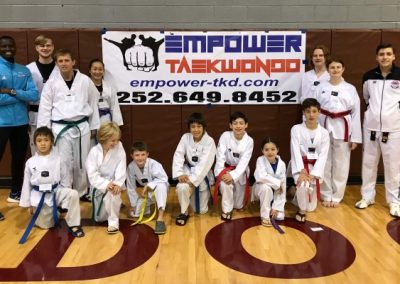 Taekwondo Tournament Team