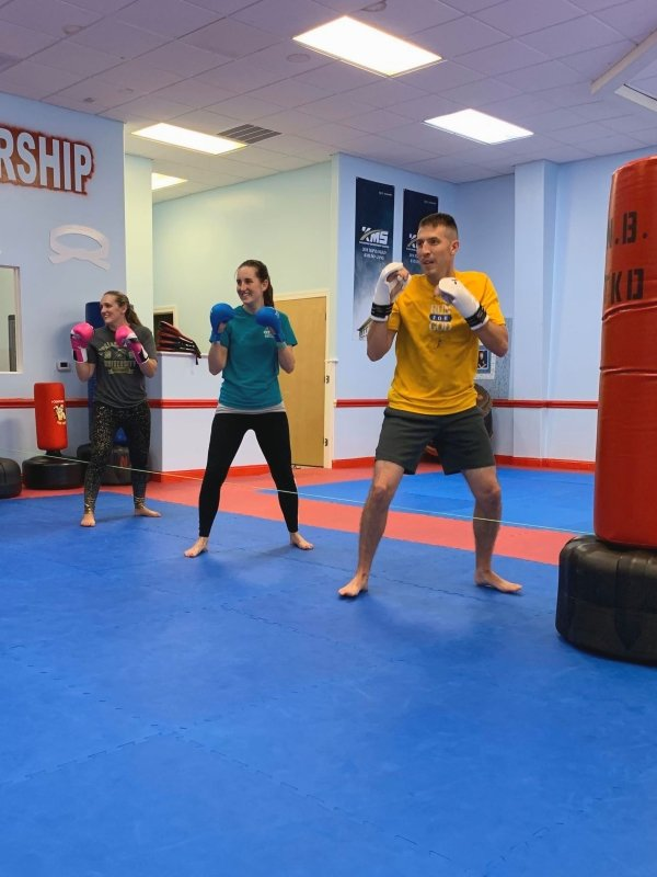 Kick2BeFit Group Class Adult Fitness Class