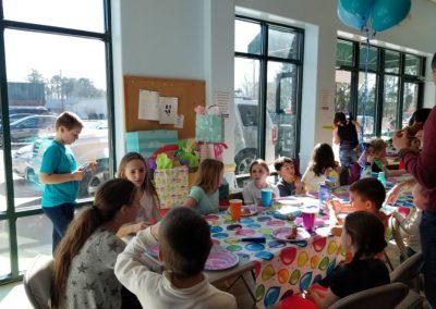 host Birthday party